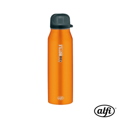 alfi愛麗飛 極簡澄橘isoBottle不鏽鋼真空保溫瓶0.5L(ISG-050-OR)