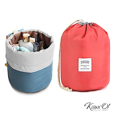 Kiiwi O! 環遊世界系列盥洗包 CASEY 桃
