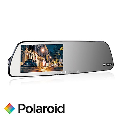 Polaroid 寶麗萊DS502GS星光夜視FHD1080P後照鏡行車紀錄器-快