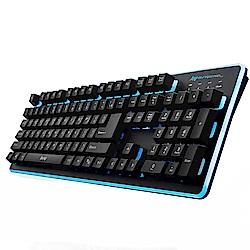 B.Friend GK3 遊戲發光有線鍵盤-黑白可選