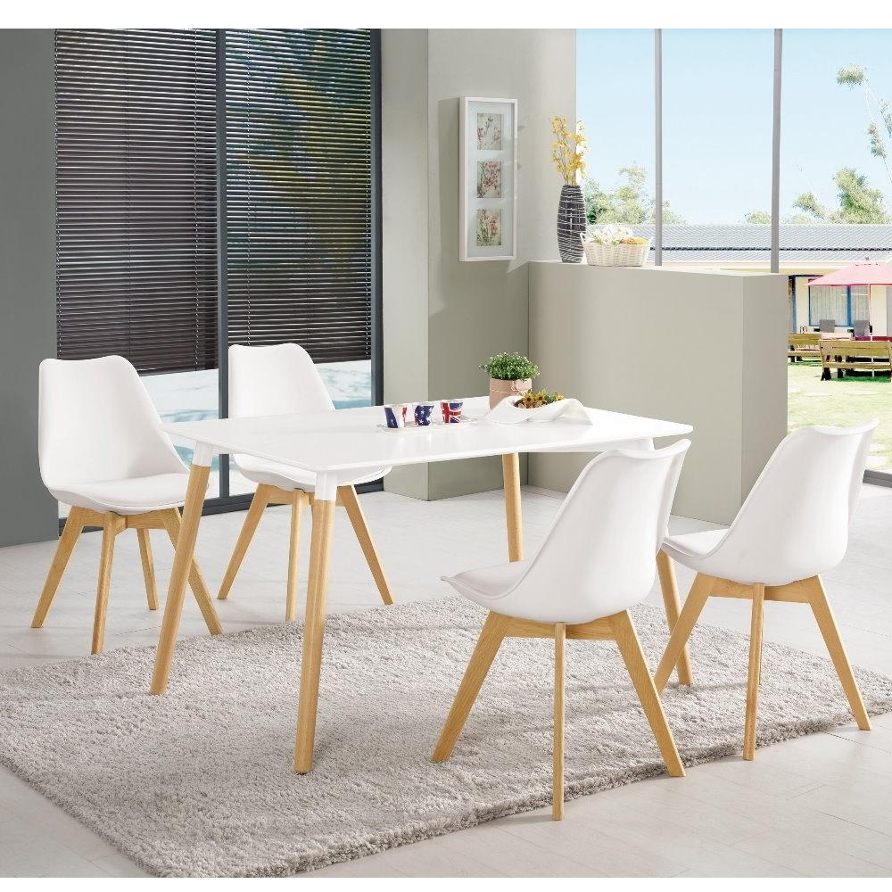 MUNA 妮亞4尺休閒桌(1桌4椅) 120X80X74cm