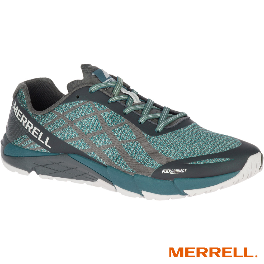 MERRELL BAREACCESSSHIELD 男跑鞋-綠(77569)