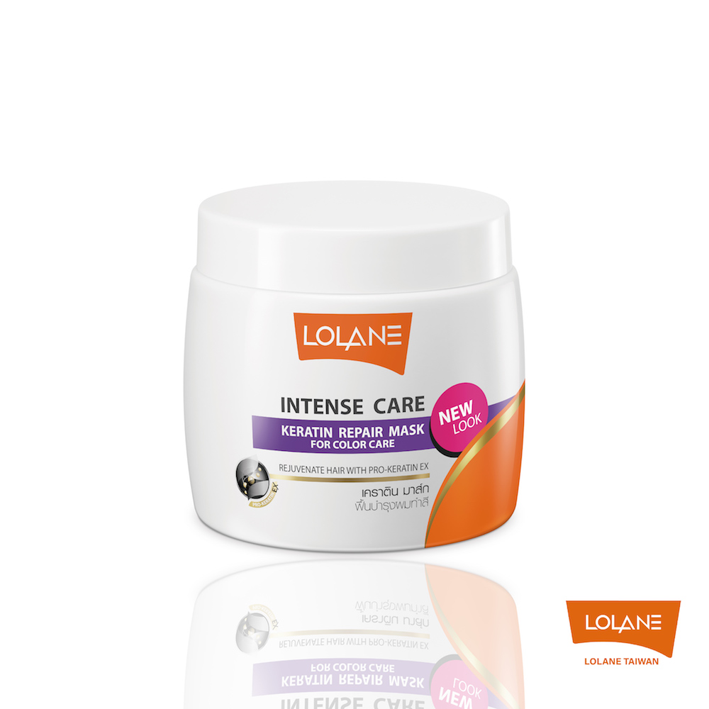 LOLANE 高效修護角蛋白髮膜-染髮受損及護色 200g