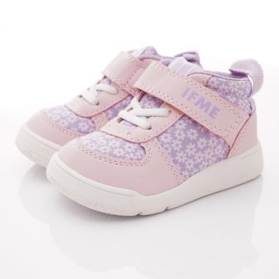 IFME健康機能鞋 護踝學步鞋款 NI7SB2紫粉紅(寶寶段)