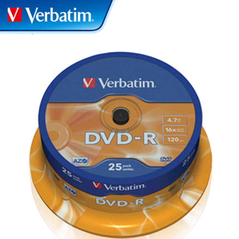 Verbatim 威寶 16X DVD-R 光碟片 25片