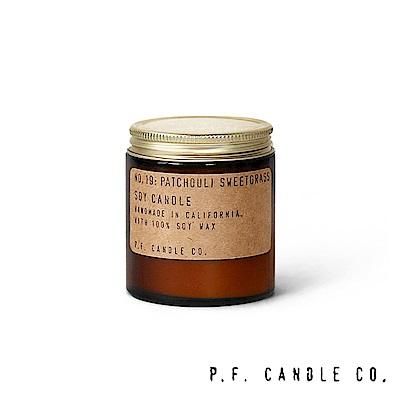美國 P.F. Candles CO. No.19 廣藿香香草 手工香氛蠟燭 99g