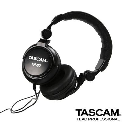 【日本TASCAM】 耳罩式 TH-02 監聽耳機