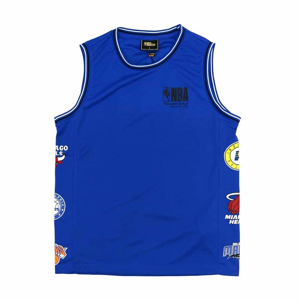NBA Style C&S 隊徽LOGO 復古風 背心