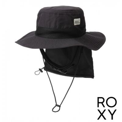 【ROXY】UV WATER CAMP HAT 抗UV戶外運動帽 黑色