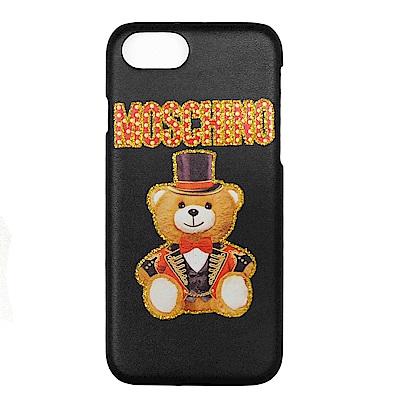 MOSCHINO 新款皇家熊熊 I Phone 6.7.8 手機殼 (黑色)
