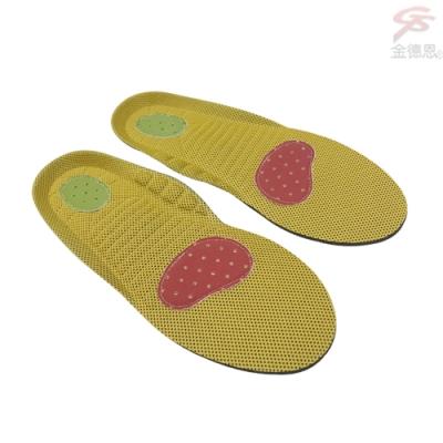 金德恩 台灣製造 POLIYOU 立體3D透氣抑菌兒童鞋墊S~XL號