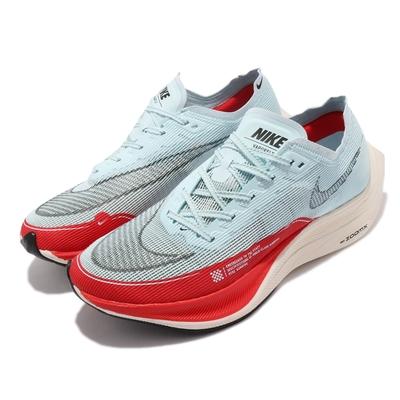 Nike ZoomX Vaporfly Next% 2代 男鞋 OG 慢跑鞋 馬拉松 路跑 藍 紅 CU4111400