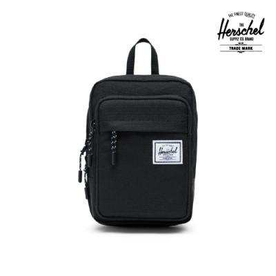 【Herschel】Form Large 斜背包-黑