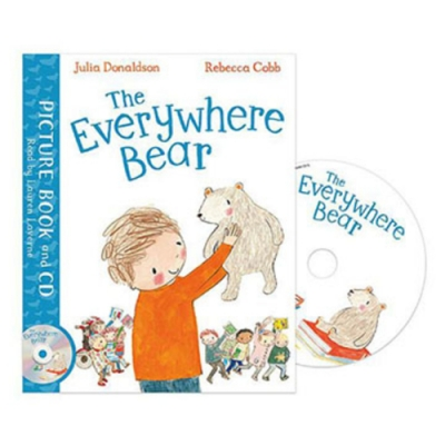 The Everywhere Bear 大家的小熊平裝繪本(附CD)