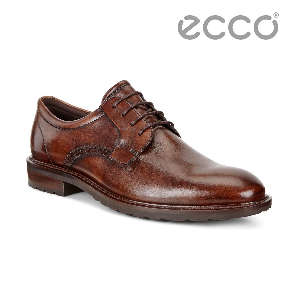 ECCO VITRUS I雅致男士正裝德比鞋 男-棕