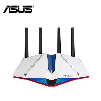 ASUS X GUNDAM 華碩 RT-AX82U 雙頻WiFi 6無線電競路由器 鋼彈限量款