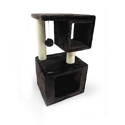寵愛物語《相框雙層方屋貓跳台 CT54》貓跳台/貓窩/貓抓柱