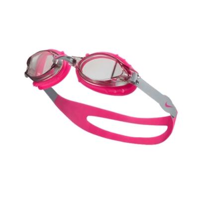 NIKE 青年泳鏡  SWIM 透明粉紅