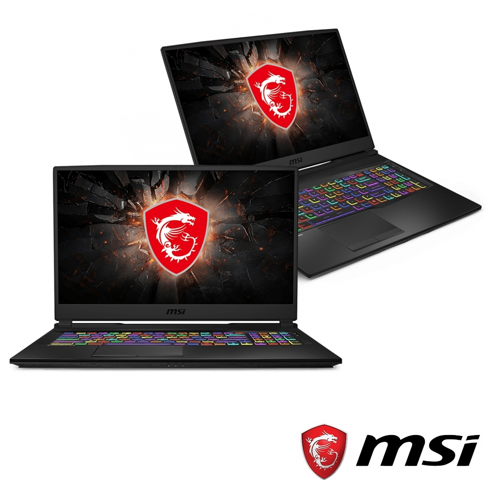 MSI微星 GL75-015 17吋電競筆電(i7-9750H/GTX1650/8G)