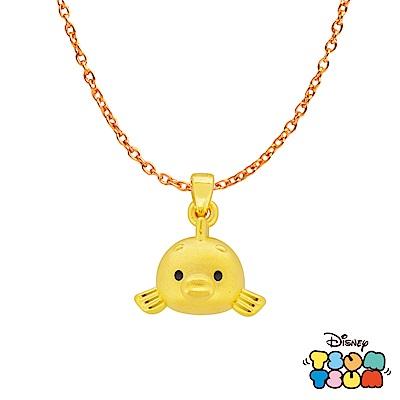 Disney迪士尼TSUM TSUM系列金飾 黃金墜子-小比目魚款 送項鍊