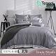 Tonia Nicole東妮寢飾 灰色馬丁尼環保印染100%萊賽爾天絲被套床包組(雙人) product thumbnail 1