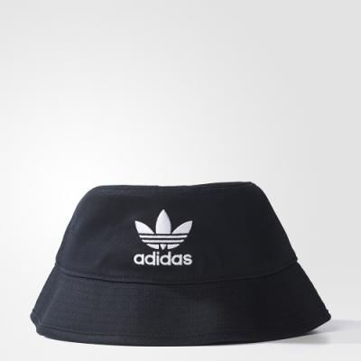 adidas ADICOLOR 黑/白 漁夫帽/帽子 男女款 AJ8995