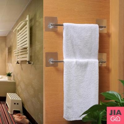 JIAGO 無痕浴室不鏽鋼毛巾架