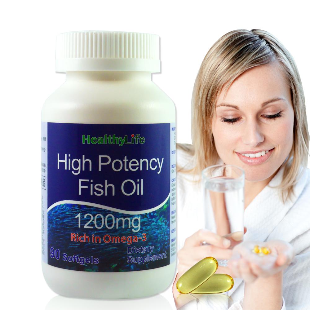 【Healthy Life加力活】歐米加600魚油膠囊(90顆/瓶)
