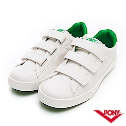 【PONY】TOP STAR時尚百搭魔鬼氈 小白鞋 休閒鞋 男鞋 綠色
