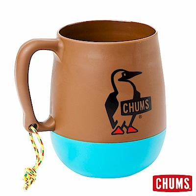 CHUMS  露營野餐 圓桶馬克杯 棕/藍綠 (450ml) 【日本製】