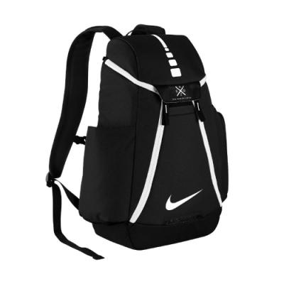 Nike 後背包 Hoops Elite Max Air Team 男女款 大容量 籃球 運動 旅行包 黑 白 DM0399-010