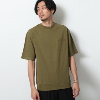 素TEE口袋短袖T恤棉質(5色) ZIP日本男裝