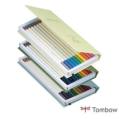 TOMBOW IROJITEN 色辭典鉛筆 第一集 (3本共30色)
