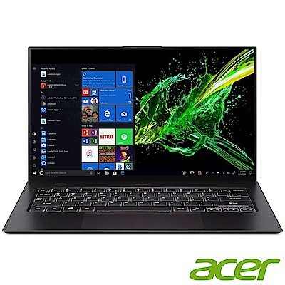 Acer SF714-52T-748F 14吋筆電(i7-8500Y/16G/512G SSD/Swift 7/黑)