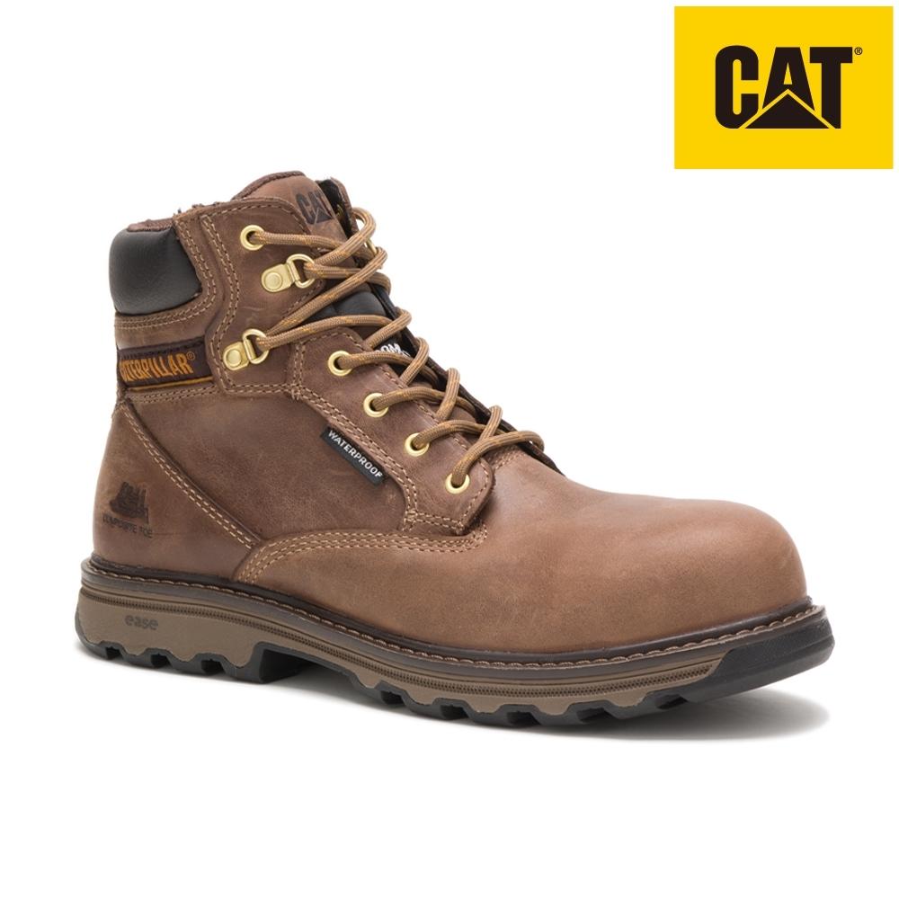 【CAT】SUPERSTAT WP NANO 女性專屬塑鋼鞋(90891)