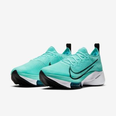 Nike 慢跑鞋 Zoom Tempo NEXT% 女鞋 氣墊 舒適 避震 路跑 健身 運動 綠 白 CI9924300
