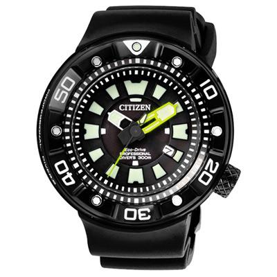 CITIZEN Eco-Drive 航海戰艦日期腕錶(BN0177-05E)
