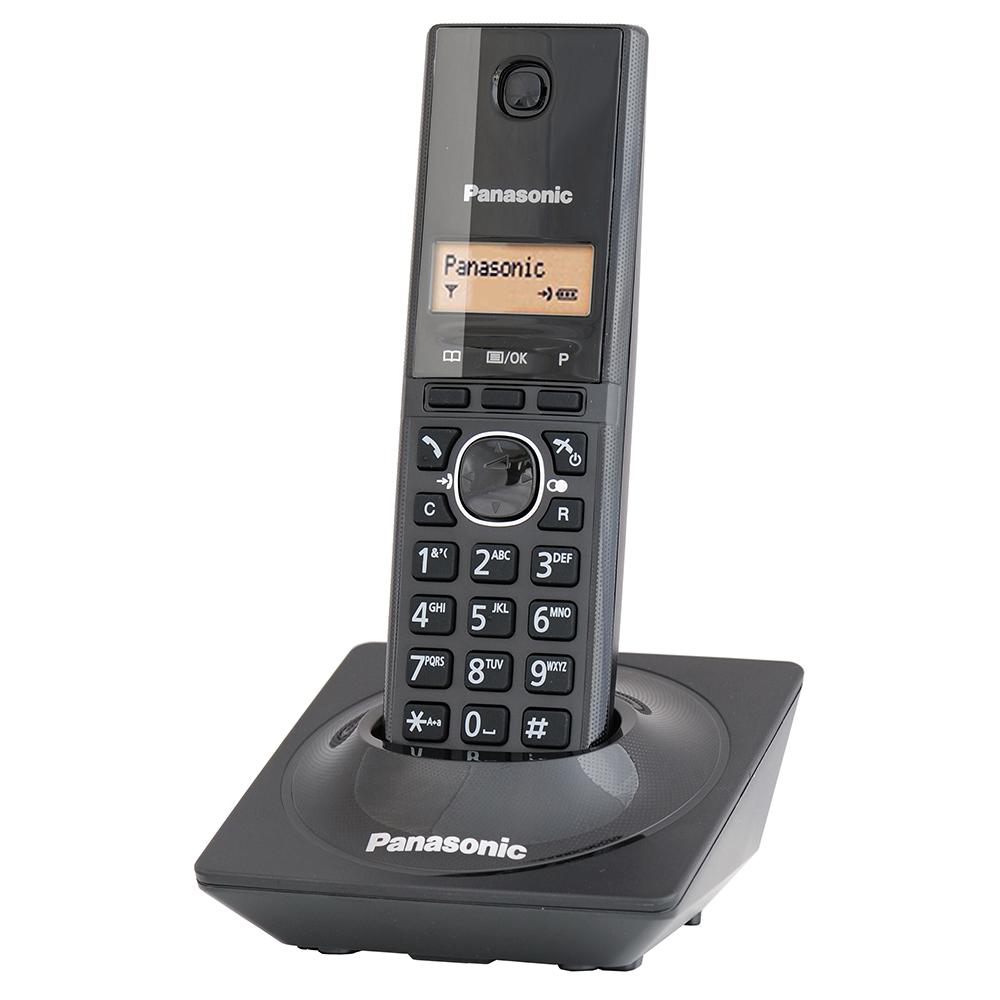 Panasonic國際牌DECT數位式無線電話KX-TG1711[時尚黑]