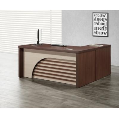 MUNA 卡拉6尺辦公桌組(含側櫃,活動櫃) 180X171X77cm