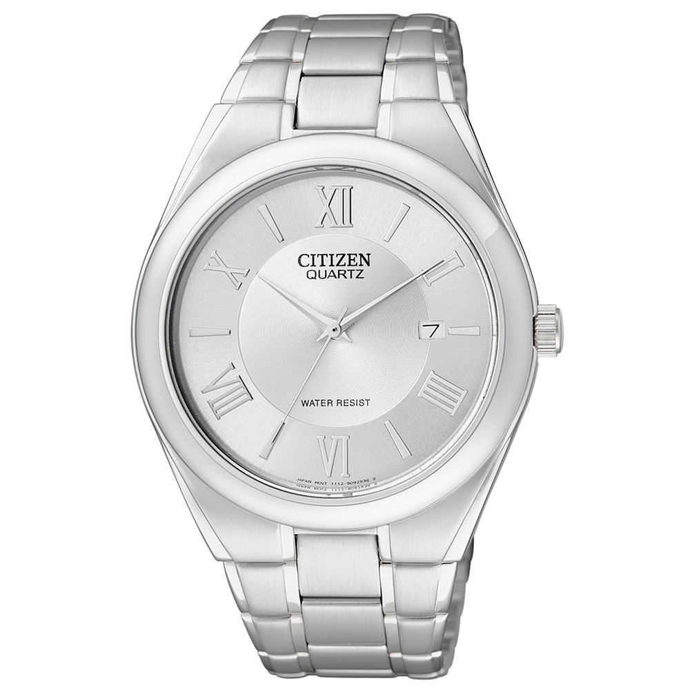 CITIZEN 時光旅的戀人石英腕錶(BI0950-51A)-銀x39mm @ Y!購物