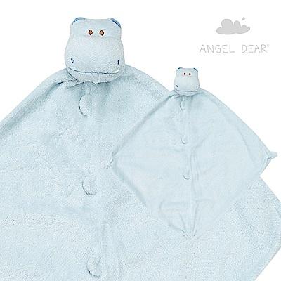 美國 Angel Dear 動物嬰兒安撫巾禮盒版 (小河馬系列)