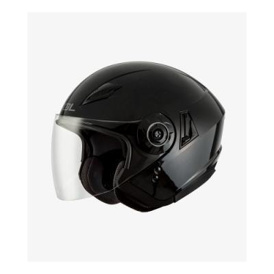【SOL】SO-5 素色 素黑 3/4罩(安全帽│半罩│內藏墨鏡│GOGORO)