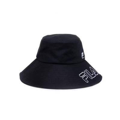 FILA 時尚遮陽帽-黑 HTU-5011-BK