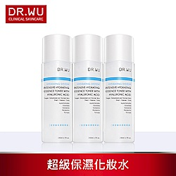DR.WU玻尿酸保濕精華露150ML X3入