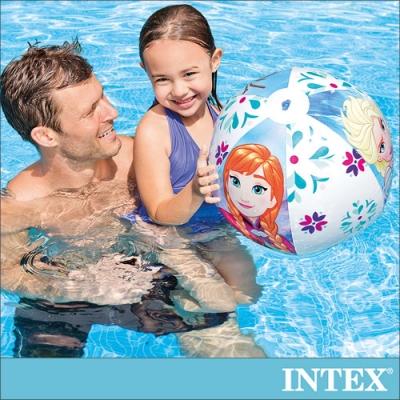 INTEX 冰雪奇緣ELSA-沙灘球51cm 適用3歲以上(58021)