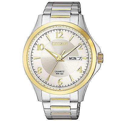 CITIZEN星辰 經典紳士三針時尚錶(BF2005-54A)