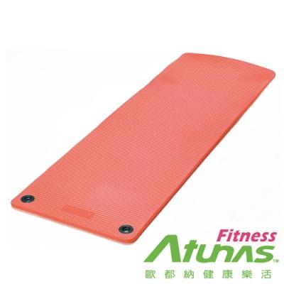 【ATUNAS 歐都納 】健身運動瑜珈墊15mm(MEM72151珊瑚橘/有氧/塑身/厚墊/運動墊)
