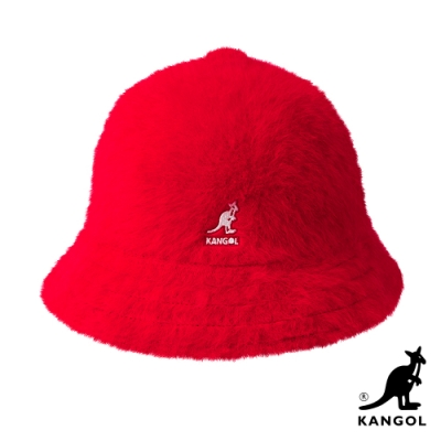 KANGOL-FURGORA鐘型帽-紅色