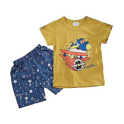 男童短袖清涼套裝 k51104 魔法Baby