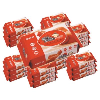 Aprica愛普力卡 - 嬰兒專用超柔濕巾居家包80抽 24包/箱